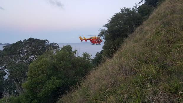 The Westpac Rescue Helicopter was called out at 5:30pm.