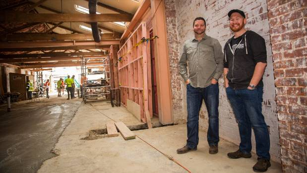 Brew Union owners Murray Cleghorn and Jules Grace originally wanted a much smaller bar, but decided to upsize and build ...