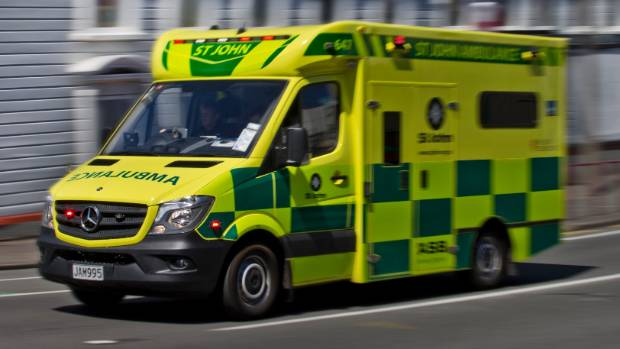 A 45-year-old man was seriously injured after a fall from a bridge in Dunedin on Thursday evening.