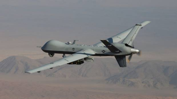 British companies have built a combat unmanned aerial vehicle similar to this one, called Tiranus, that can fly over war ...