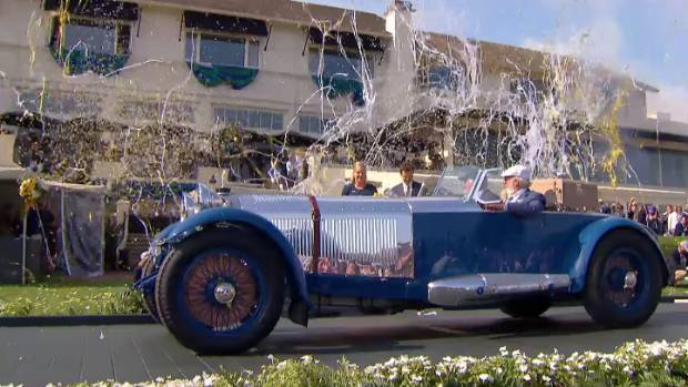 Best in Show winner at the 2017 Pebble Beach Concours d'Elegance was this 1929 Mercedes-Benz S Barker Tourer, owned by ...