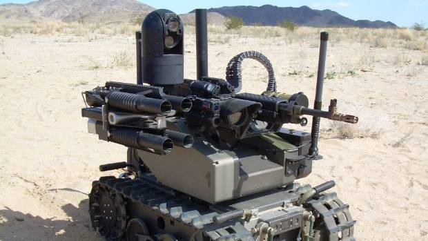 Lethal Autonomous Weapons Systems, also known as killer robots, could come in the form of an armed tank that patrols war ...