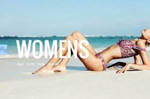 """Blogger Karen Knowlton criticised Billabong images for treating men as """"subject"""" and women as """"object""""."""