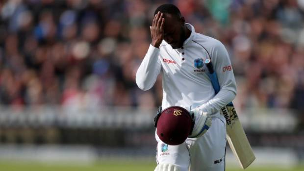 England enforces follow-on, struggling West Indies 76-4