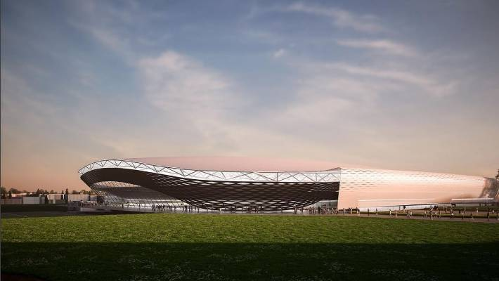 New Christchurch arena could have solid roof and retractable playing
