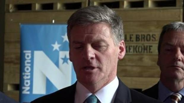 """Bill English: """"National's plan is to keep New Zealand moving forward - a confident plan for a confident country."""""""