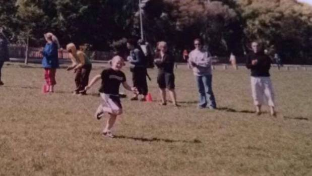 One of the last athletic endeavours I tackled before giving up on sport - my primary school cross-country.