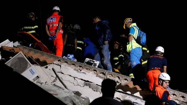 Quake rocks Italian resort island of Ischia