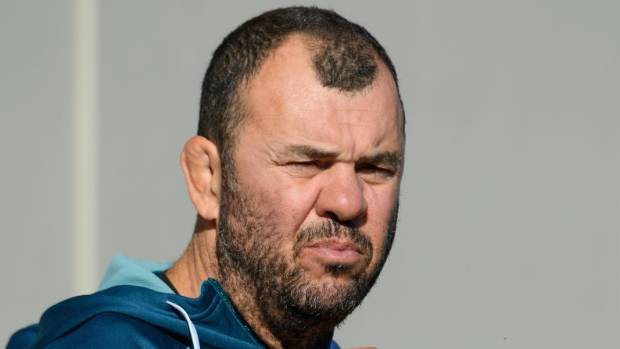Wallabies coach Michael Cheika is getting in the neck from unhappy fans.