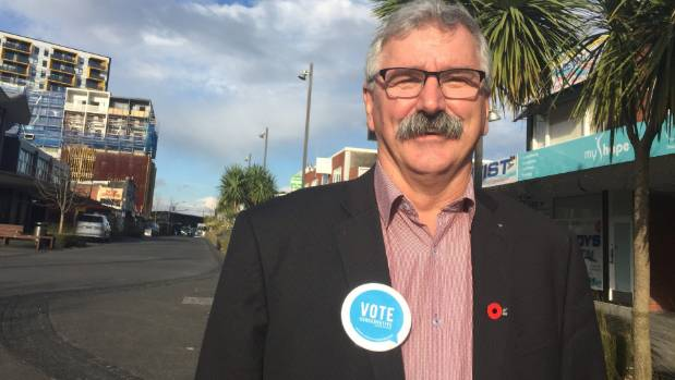 Conservative Party's candidate for New Lynn, Paul Davie, and doesn't like that smacking is banned.