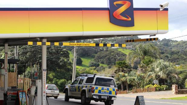 Police are seeking information from the public after an aggravated robbery at Z service station in Onetangi on Waiheke ...