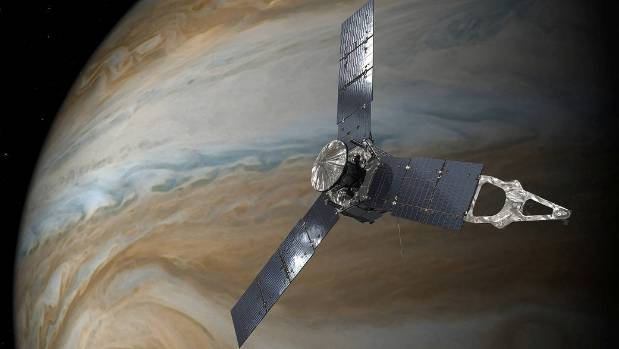 NASA Animation Flies Down Into Jupiter's Great Red Spot