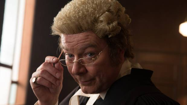 Mark Mitchinson as criminal barrister Mike Bungay.