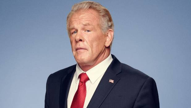 Nick Nolte plays a former Republican President in Graves.