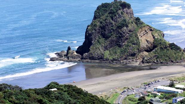 A body was discovered at Piha Beach on Wednesday (file photo).