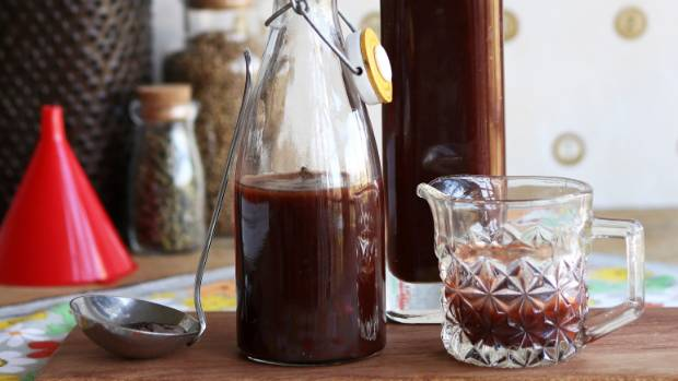 Lynda Hallinan gets ready to photograph her homemade damson plum sauce – only to spot the wings of a blowfly sticking ...