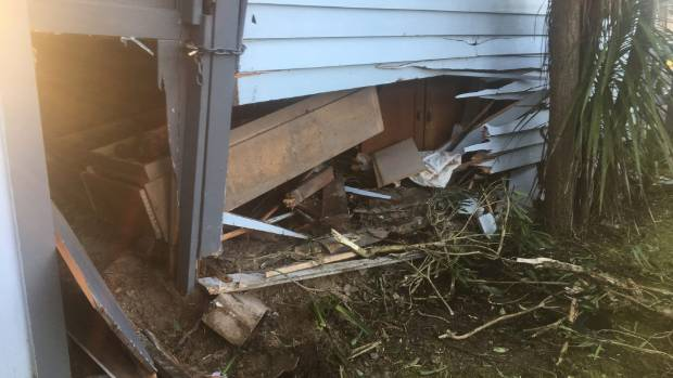Drunk driver ploughs into Hamilton property