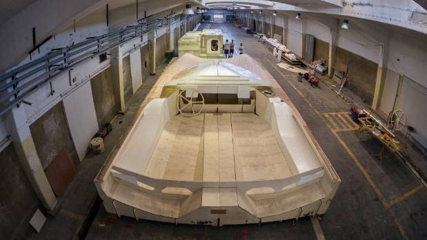 The first mockup of the new foiling monohulls to be sailed in the 2019-20 Volvo Ocean Race has been unveiled in Lisbon, ...