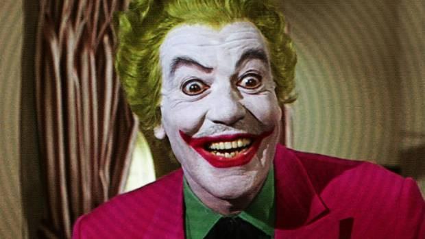 Cesar Romero played the Joker in the 60s Batman TV show.