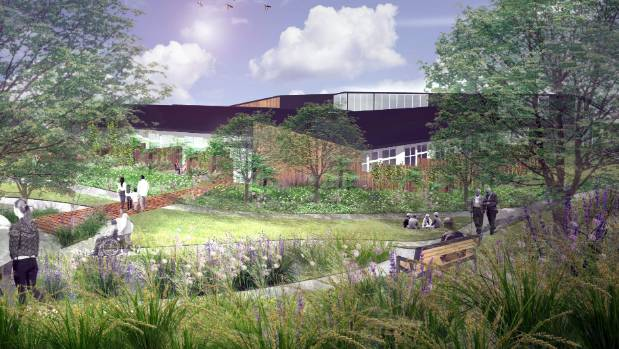 An architect's impression of new Nelson Tasman Hospice in Stoke.