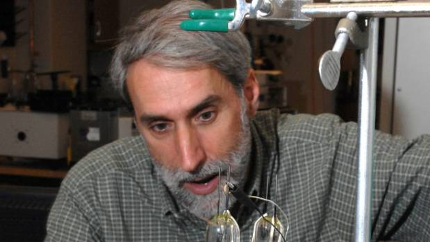 Boston chemistry academic Daniel Nocera uses solar energy to split water into hydrogen and oxygen and store them in a ...