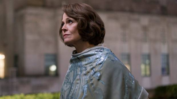 The Defenders' Alexandra Reid is based on real New York businesswomen and businessmen, says Sigourney Weaver.