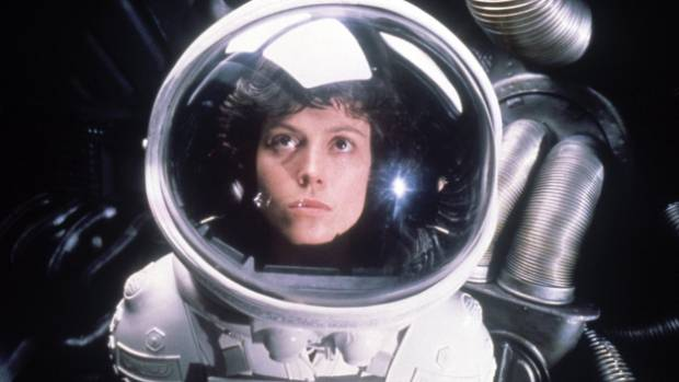 Sigourney Weaver first shot to fame as Ellen Ripley in 1979's Alien.