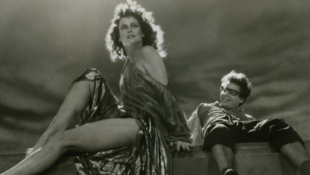 Sigourney Weaver lives in a very strange Manhattan apartment building and Rick Moranis is her nerdy neighbour in ...