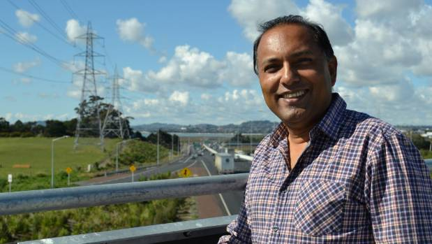 Te Atatu Peninsula man Saten Sharma, 50, says the 100kmh change is a fantastic result for Auckland.