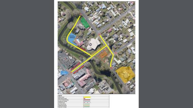King St West on both sides of the street from the Taupiri St roundabout will be closed, as will parts of Jennings St.