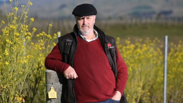 Churton Estate co-owner Sam Weaver believes a royalty on irrigation would encourage grapegrowers to use water more ...