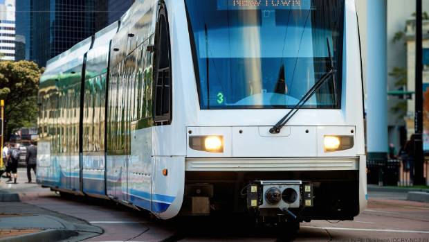The Green Party has proposed light rail to Wellington Airport by 2027.