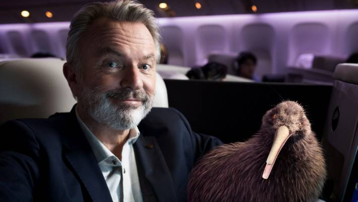 Sam Niell will be the voice of the campaign's mascot, a CGI kiwi named Pete.