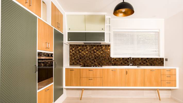 Thereu0027s A Strong Mid Century Look To This Award Winning New Kitchen In A