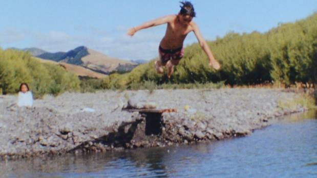 Luke Tipoki used to swim at the Turanganui river near his home south of Martinborough, as this old picture shows. Last ...