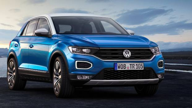 volkswagen reveals the t roc baby suv. Black Bedroom Furniture Sets. Home Design Ideas