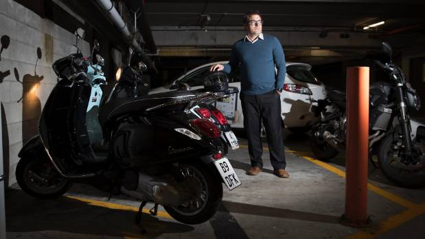 Skypath would allow auckland commuter to swap scooter for for North shore motor works