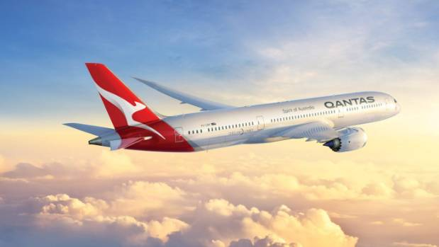 Australia's Qantas posts near-record profit, eyes direct flights to NY, London