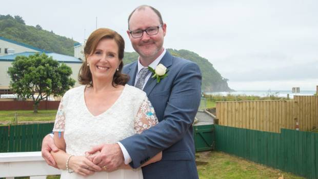 Jane Norcross-Wilkins and Mike Malcolm pictured on their wedding day. The desperate couple had sought last-ditch help ...