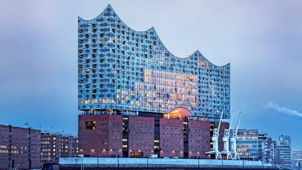 The new Elbphilharmonie Hamburg opera house is a key attraction in Hamburg.