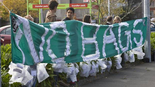 The GetReal organisation has been putting pressure on supermarkets to put a levy on plastic shopping bags.