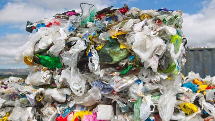 Plastic Bags Used To Pile Up At Palmerston North S Recycling Plant Before The Ban On Collecting