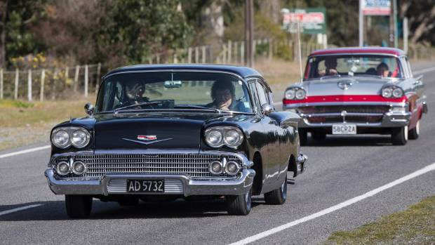 Vintage Cars Rally For Cancer Society Stuff Co Nz