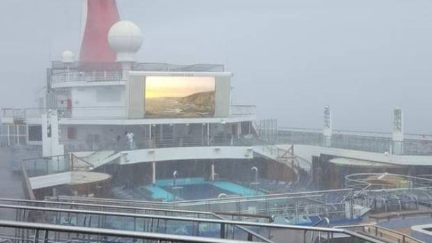 People On Board Cruise Ships Stranded By Hurricane Harvey - Stranded cruise ship