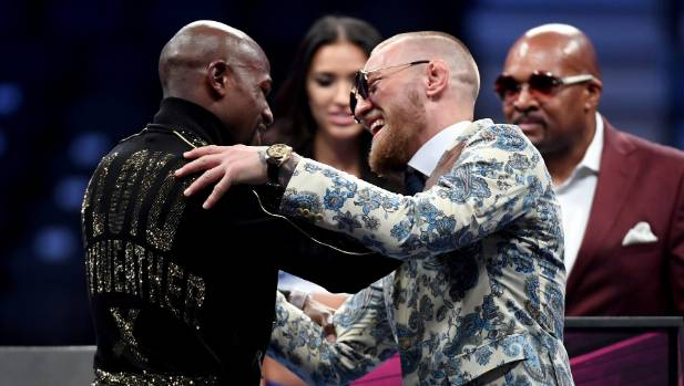 Mayweather knocks out McGregor in highly anticipated match
