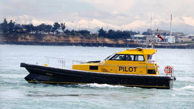 Timaru's new pilot boat Kiwa arrived in port on Monday morning.