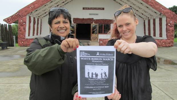 Bhana and Grantham expect up to 200 people to take part in the march, which is the first of its kind in Manurewa.