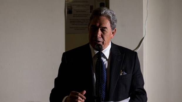 Winston Peters reveals he was overpaid superannuation