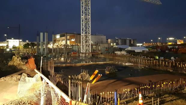 Construction work currently underway.