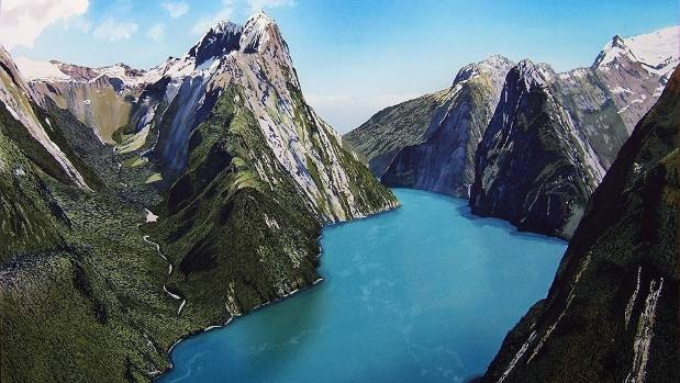 Tourists arriving in picturesque Milford Sound can't get cellphone coverage.
